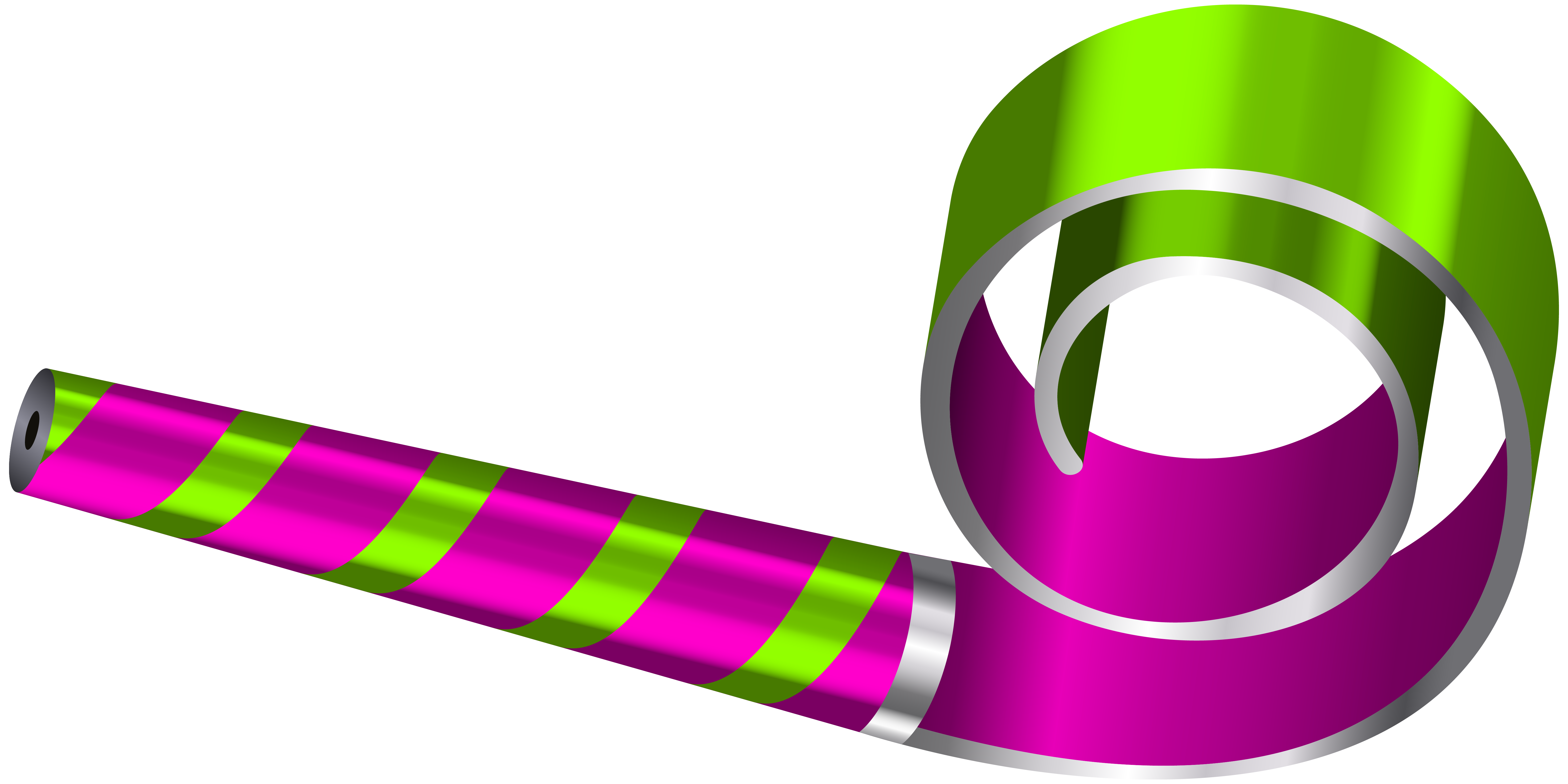 Party horn png. Birthday whistle clipart picture