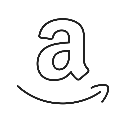 White amazon logo png. Icon page ico svg