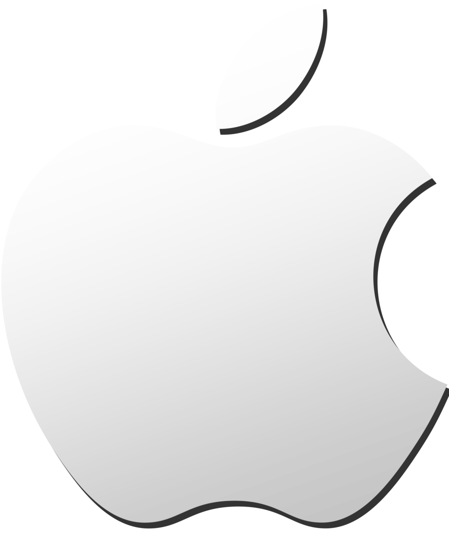 White apple logo png. Images free download