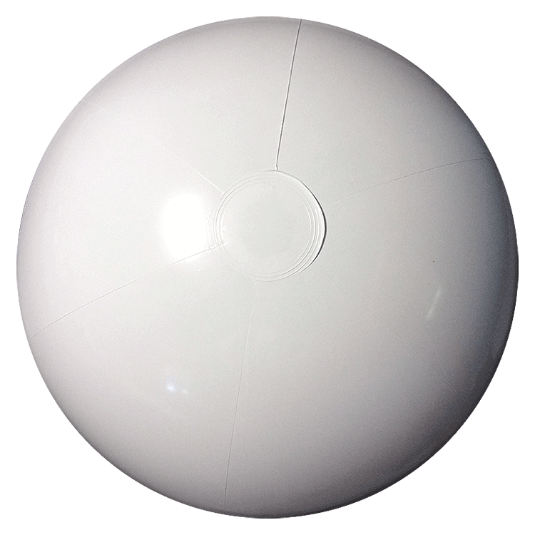 White ball png. Inch solid beach