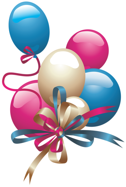 White balloons png. Clipart up and away