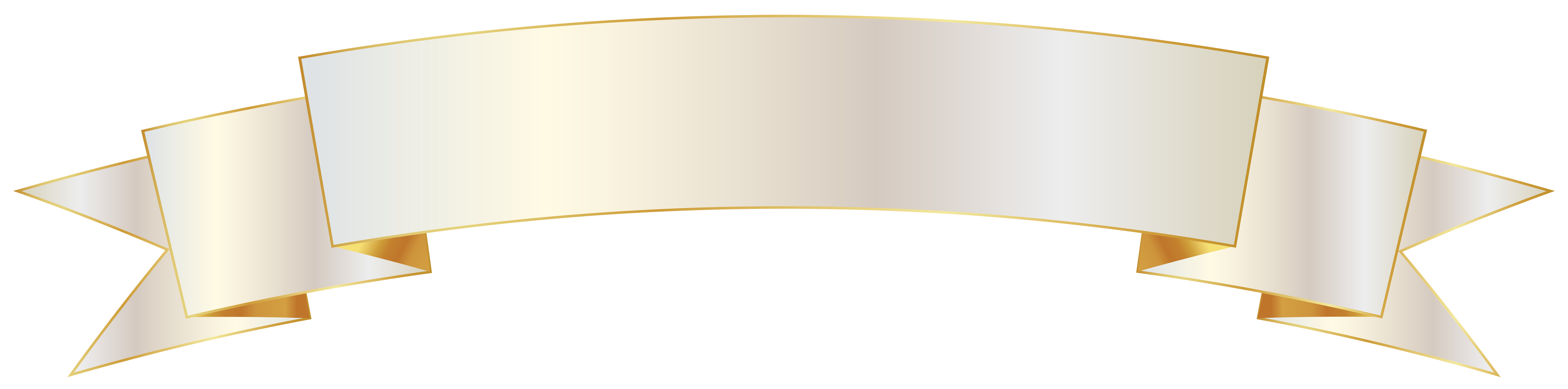 White banner png. And gold image gallery