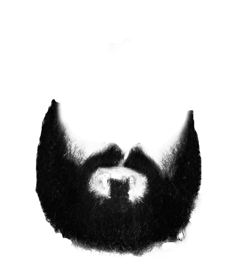 White beard png. Black and free icons