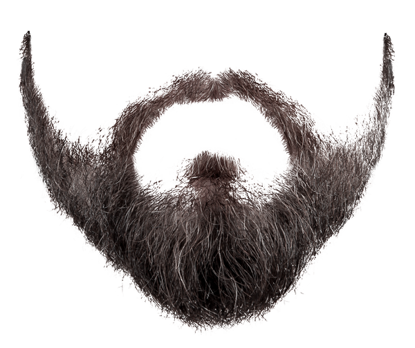 White beard png. Transparent free images only