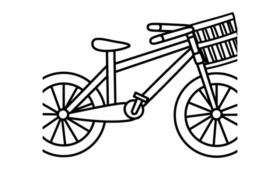 White bicycle. Free black and images