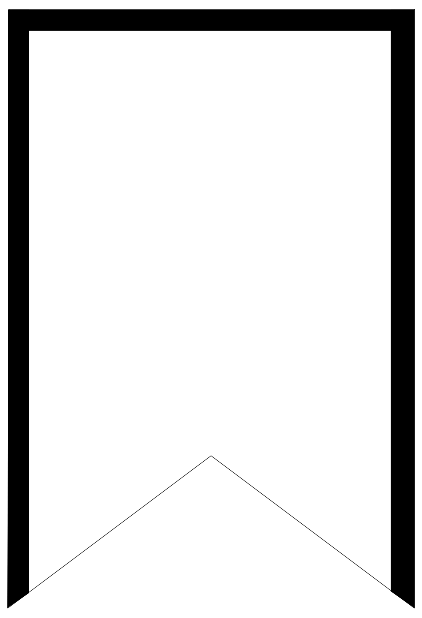 White blank banner png. Free printable templates banners