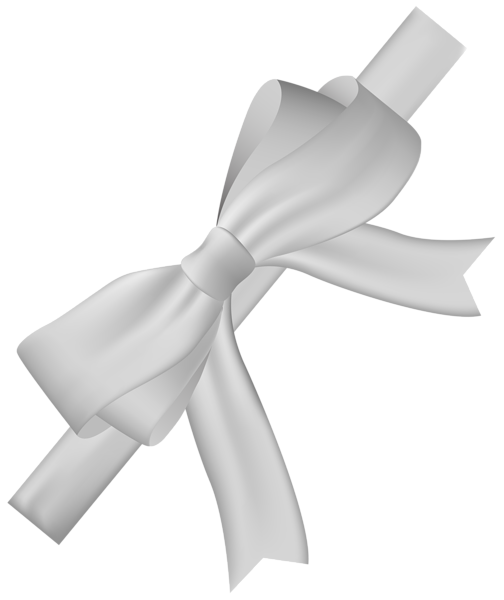 white bow png