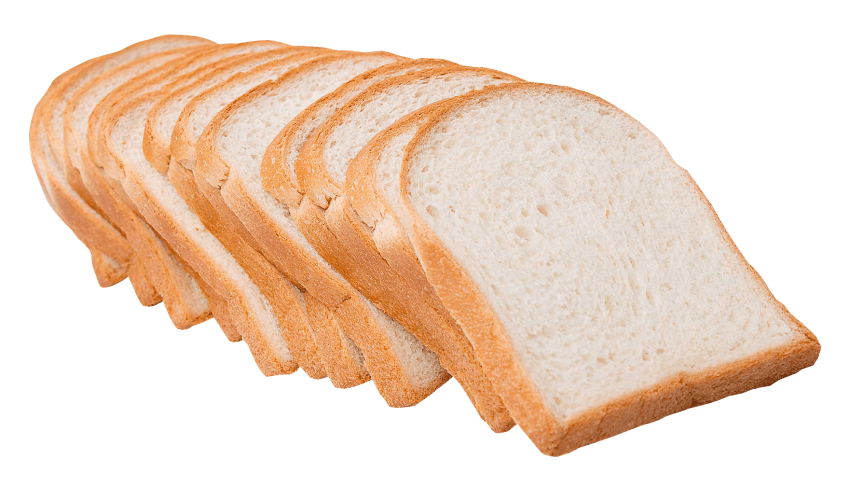sliced white bread png