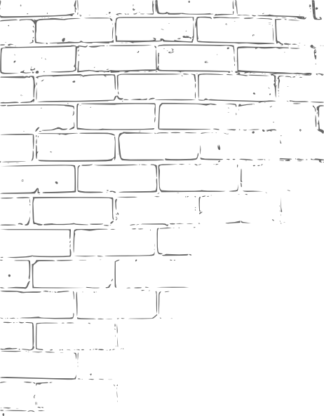 Drawing bricks brick pattern