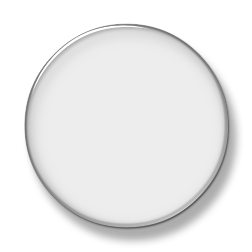 White button png. Grey circle icon free