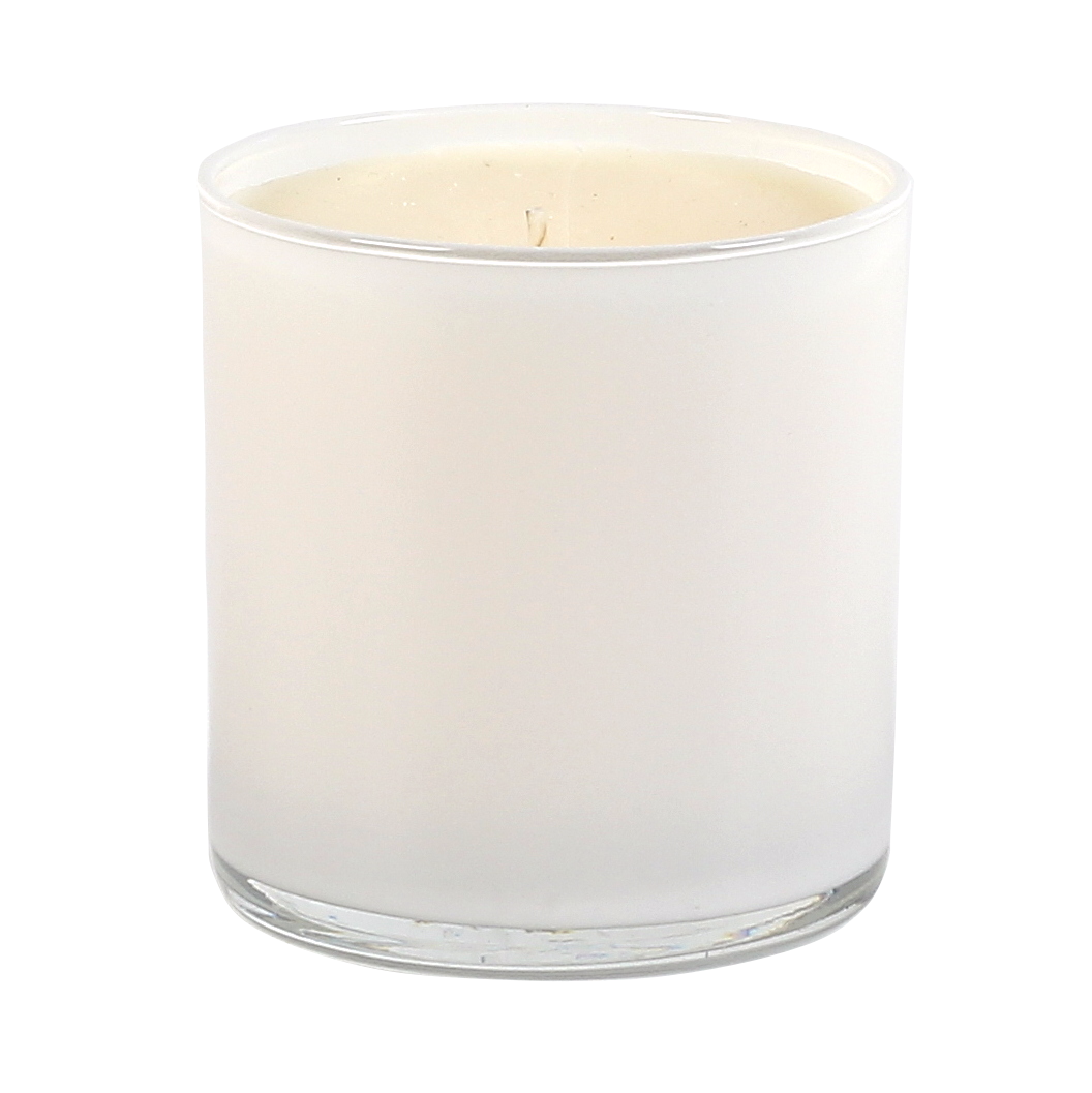 White candles in glass png hd. Purity spa candle tumbler