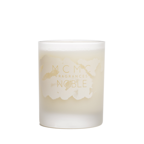White candles in glass png hd. Scented by mcmc craft