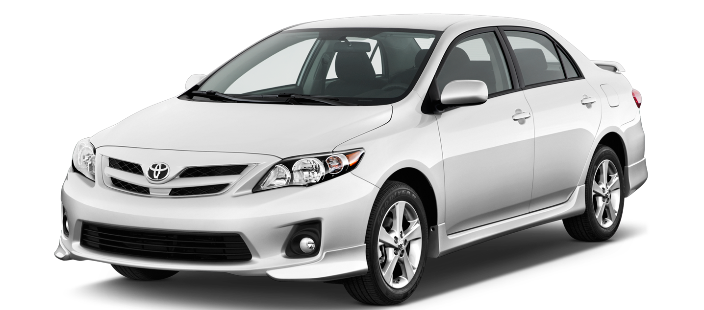 White car png. Toyota image free