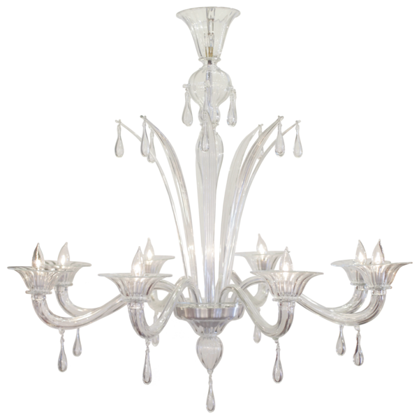 white chandelier png
