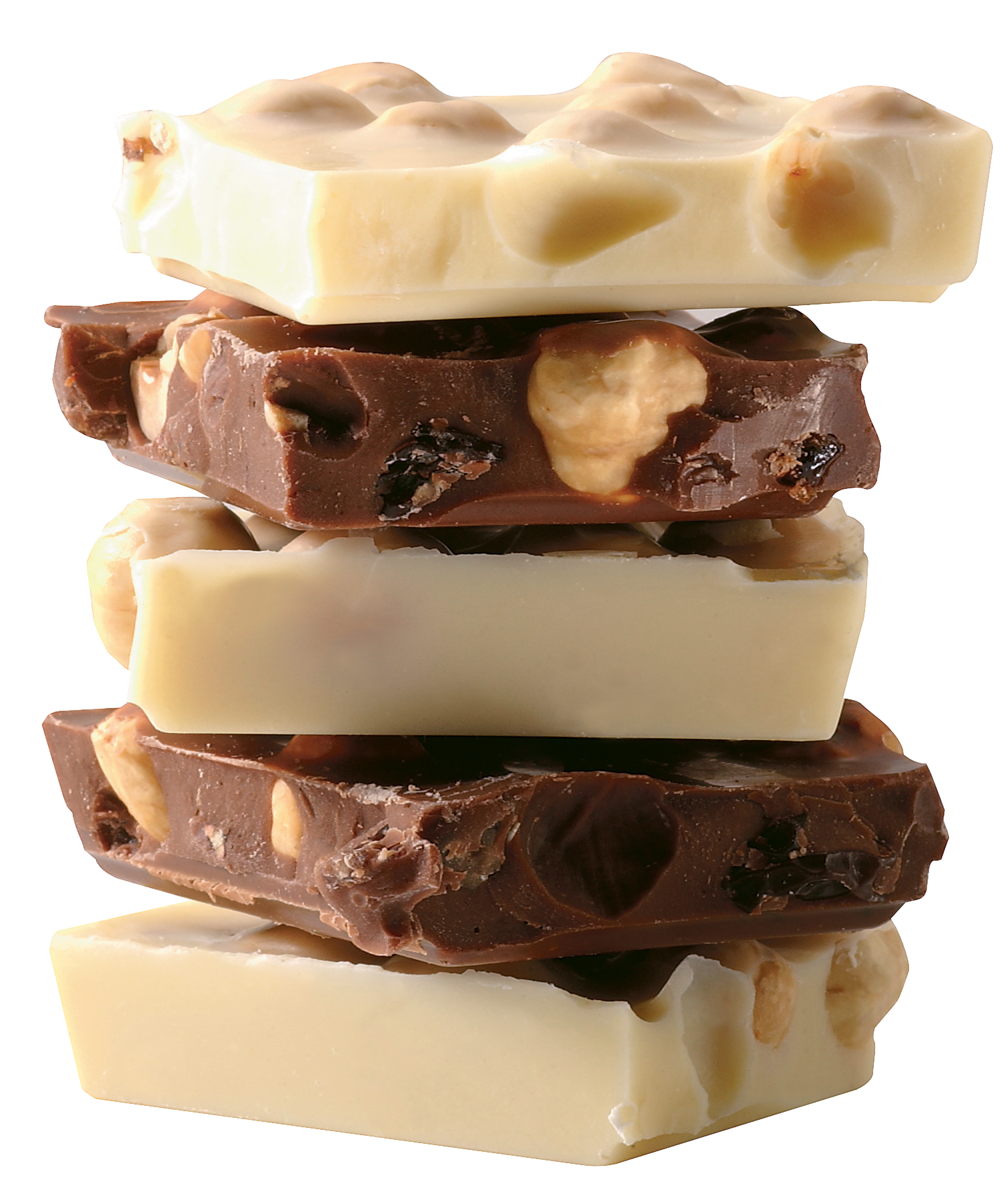 White chocolate png. And dark bars picture
