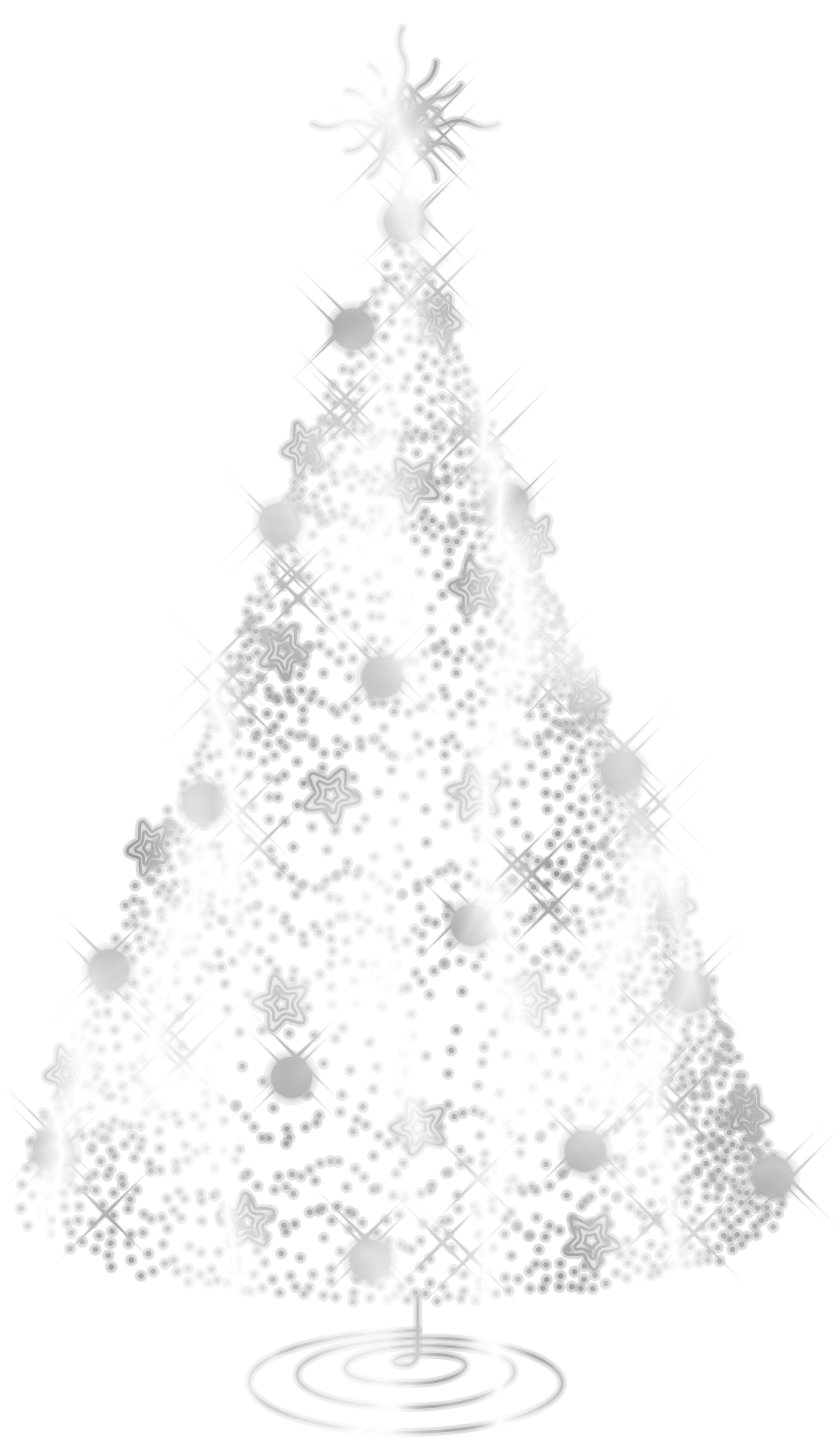 white christmas trees png