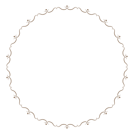 White circle frame png. Image vector clipart psd