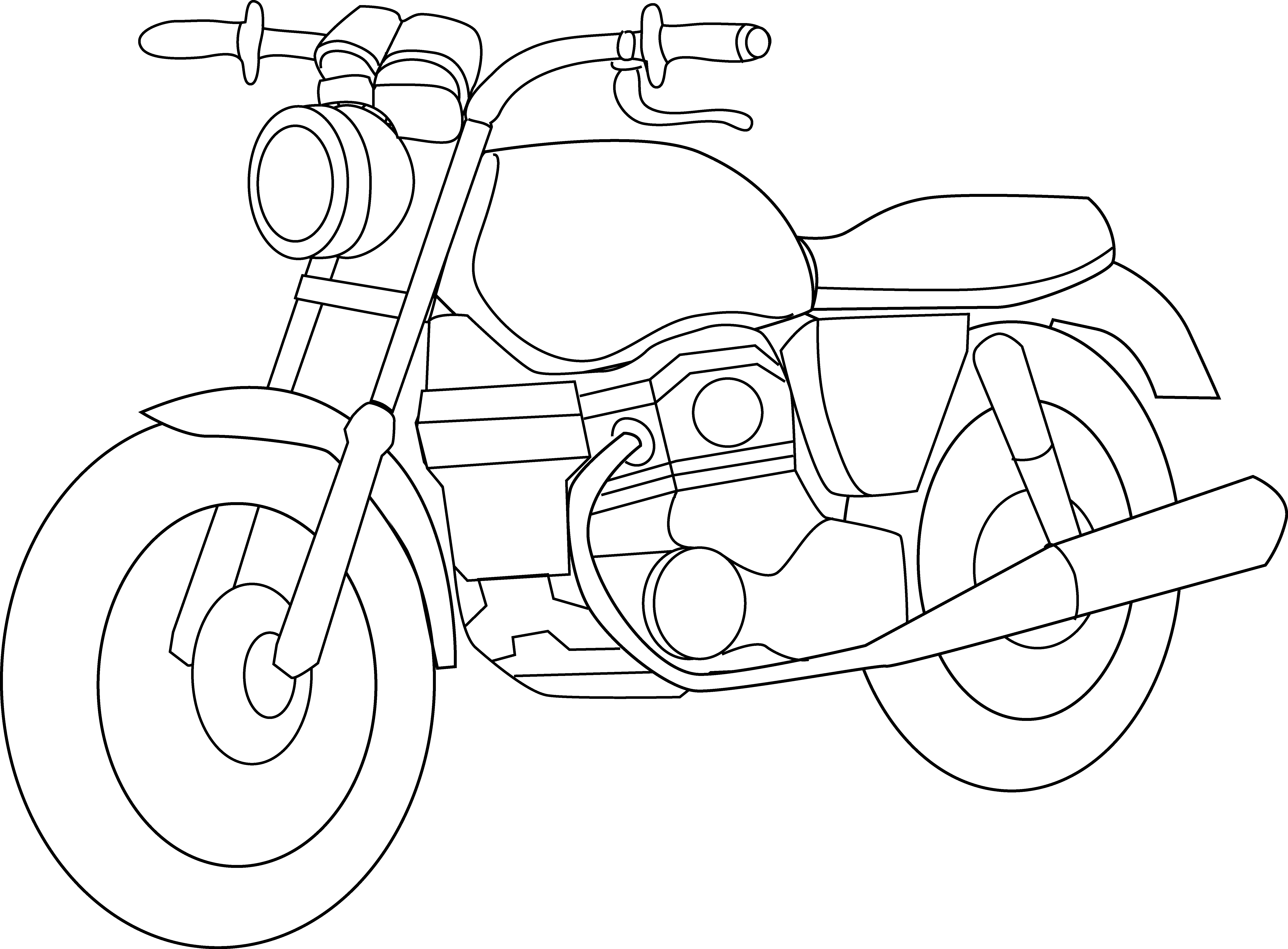White clipart motorcycle. Fresh black and gallery