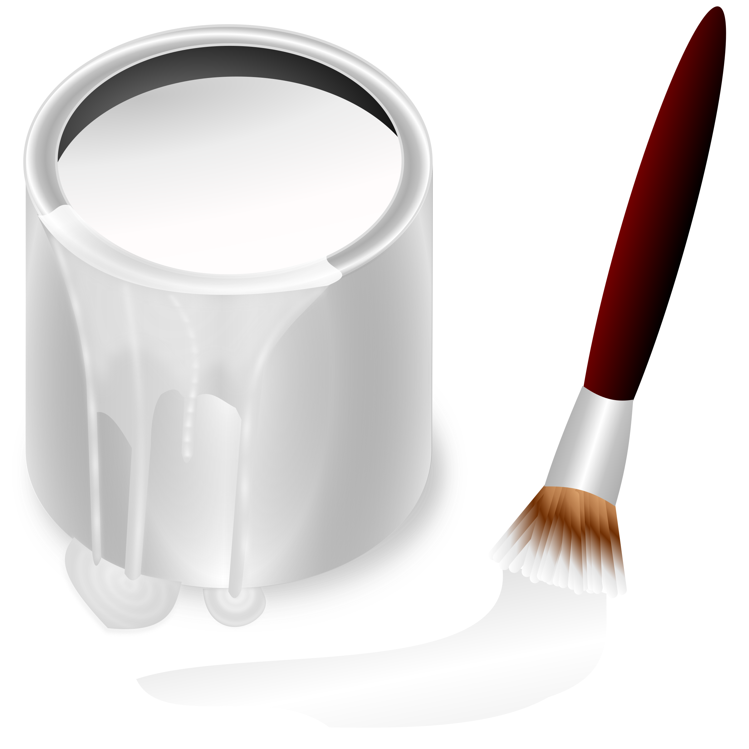 White color png. Bucket icons free and