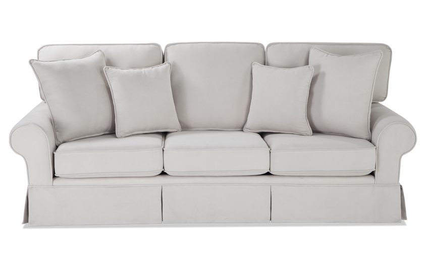 White couch png. Katie sofa bob s