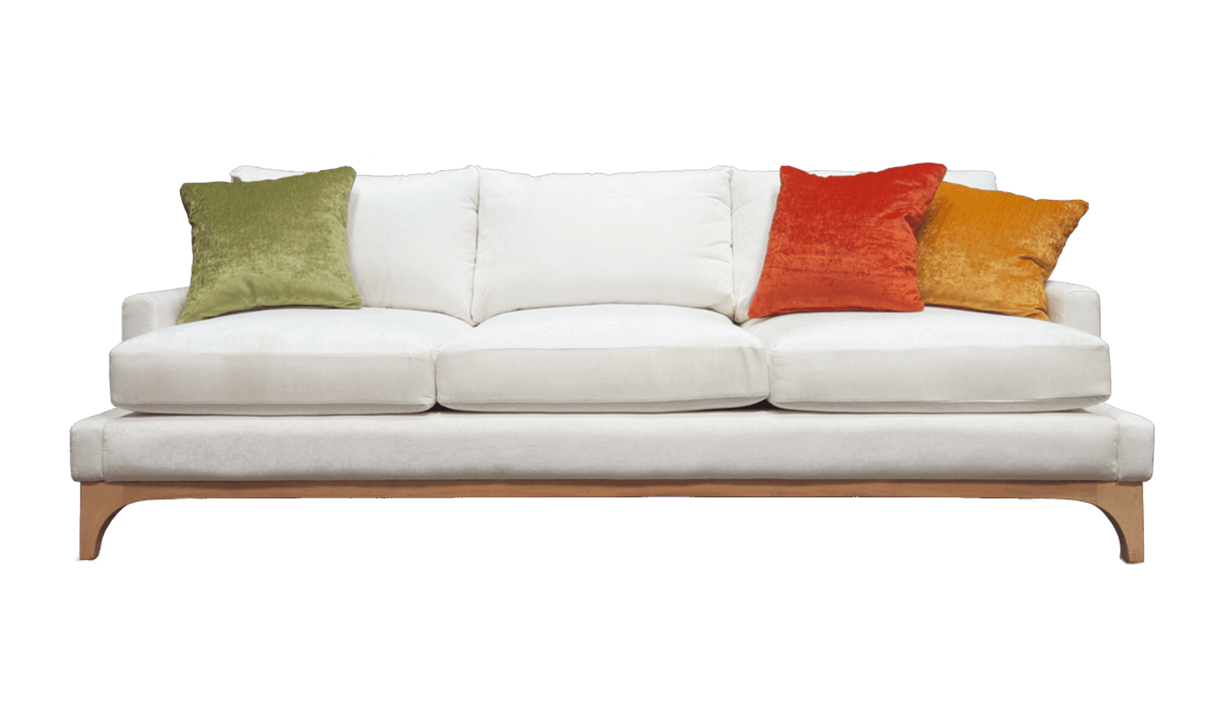 White couch png. Furniture divan chair fabric