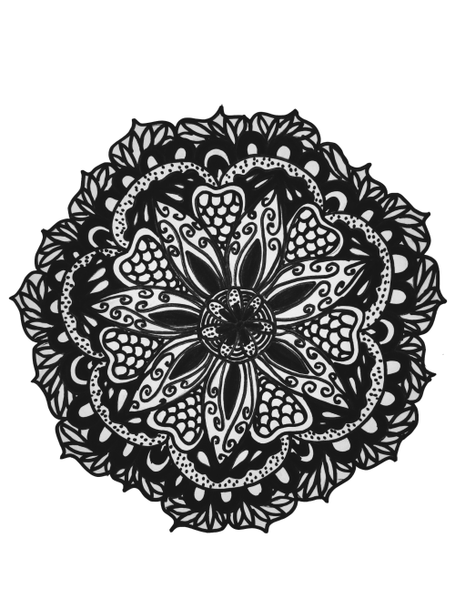 White drawing black background. Outline outlines tumblr report