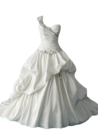 White dress png. Gown by avalonsinspirational on