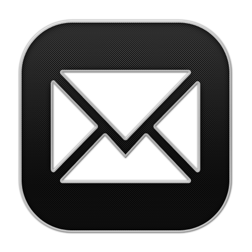 White email icon png. Blogger iconset rafiqul hassan