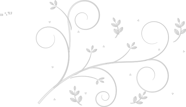 White floral design png. Offwhite clip art at