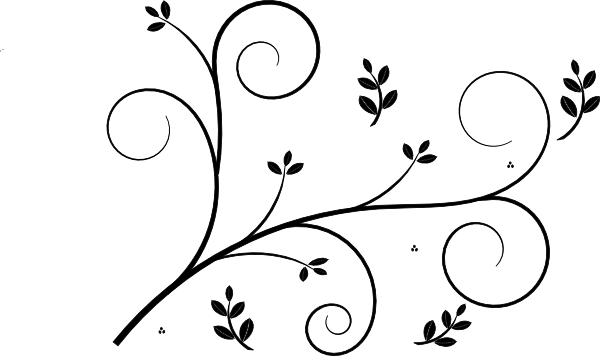 White floral design png. Edit clip art at