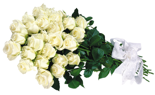 White flower bouquet png. Roses transparent clipart gallery