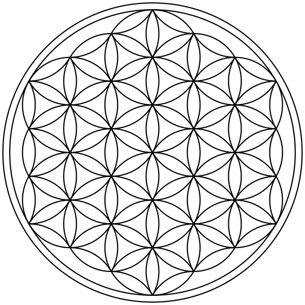 Geometrical drawing sacred geometry. Ancient egypt what is