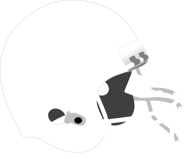 white football helmet png #79824808