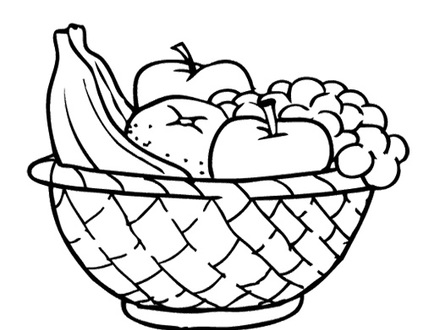 White fruit. Clipart images of fruits