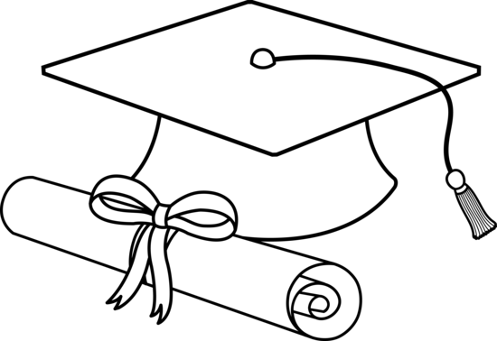White graduation hat png. Collection of cap