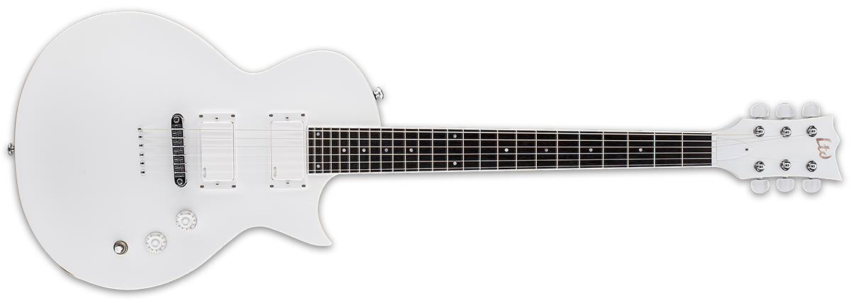 White guitar png. Ted snow the esp