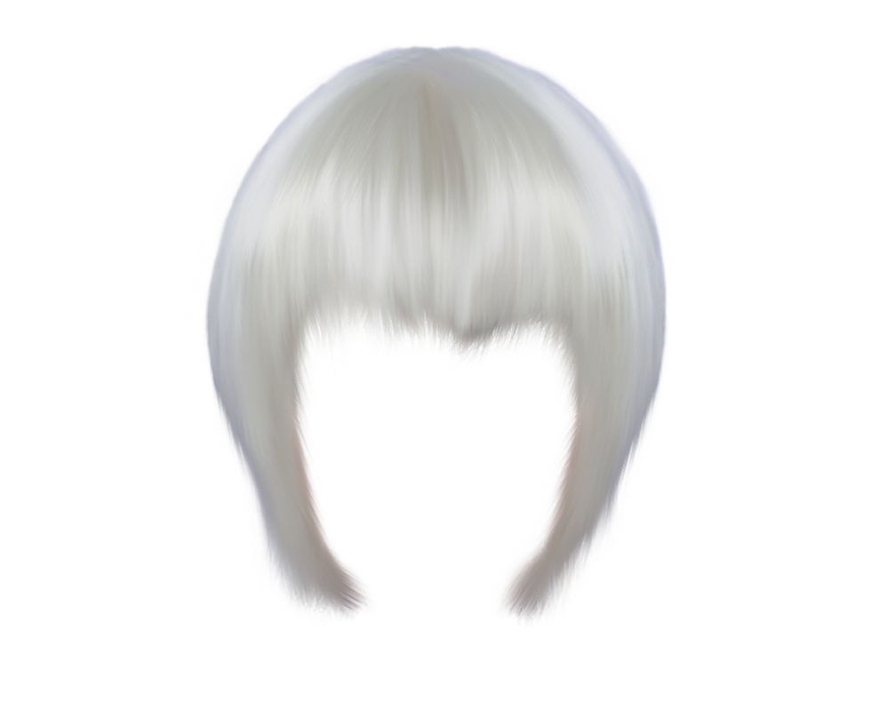 White hair png. By moonglowlilly on deviantart