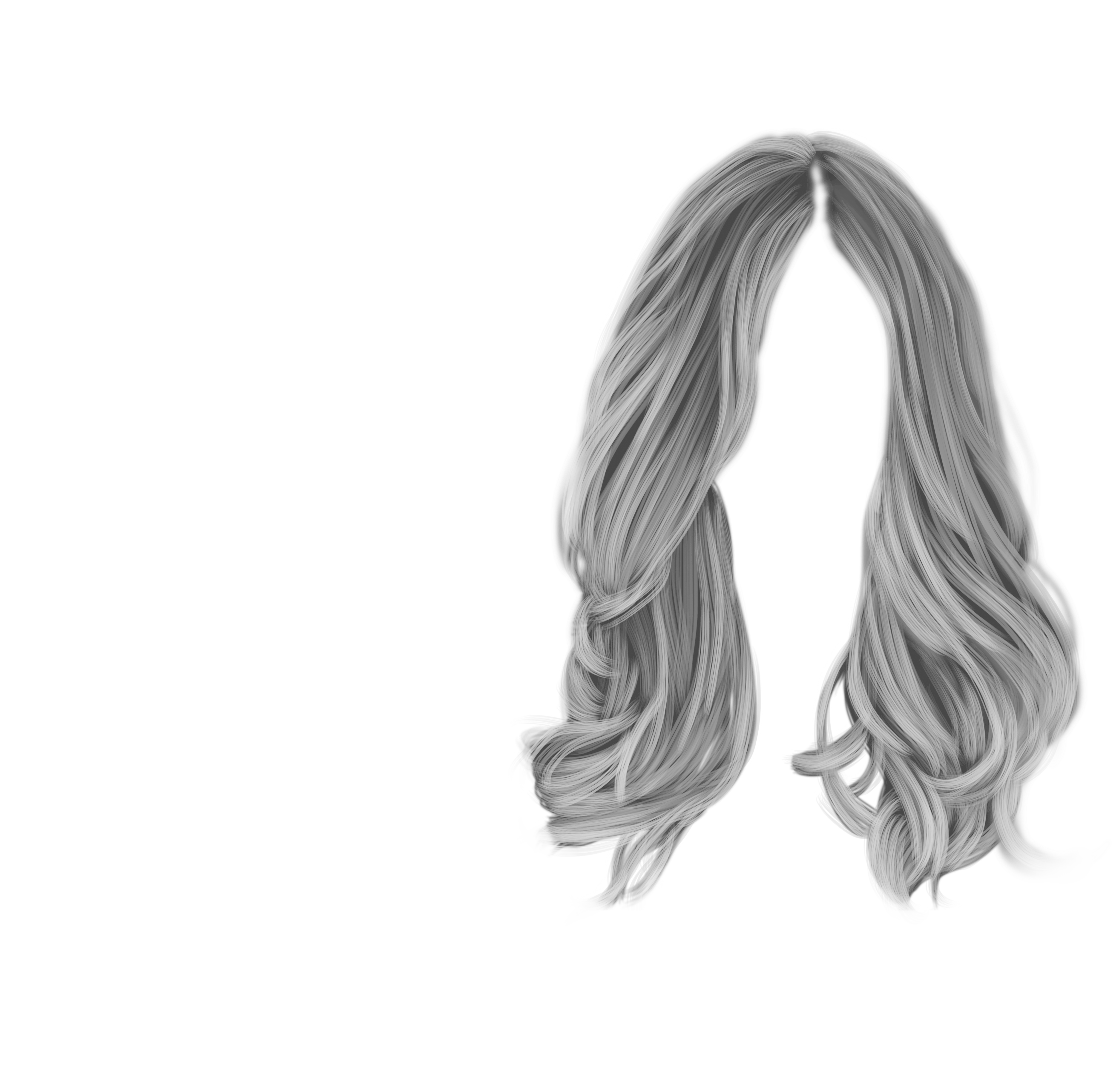 White hair png. Images in collection page