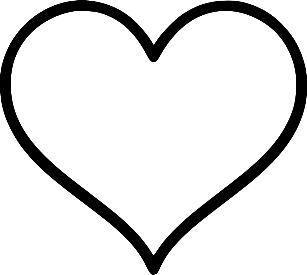 White heart icon png. Svg free download onlinewebfonts