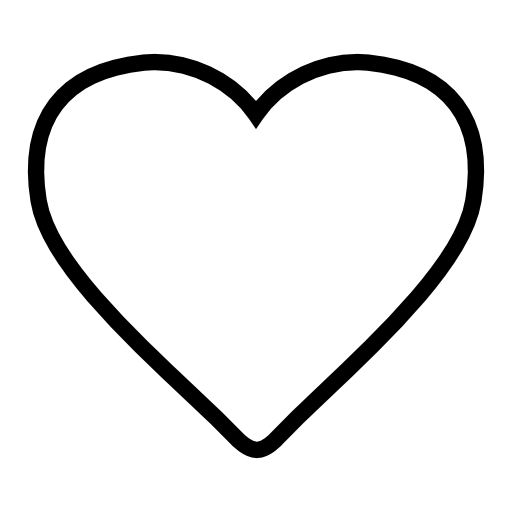 White heart shape png. Shaped image royalty free
