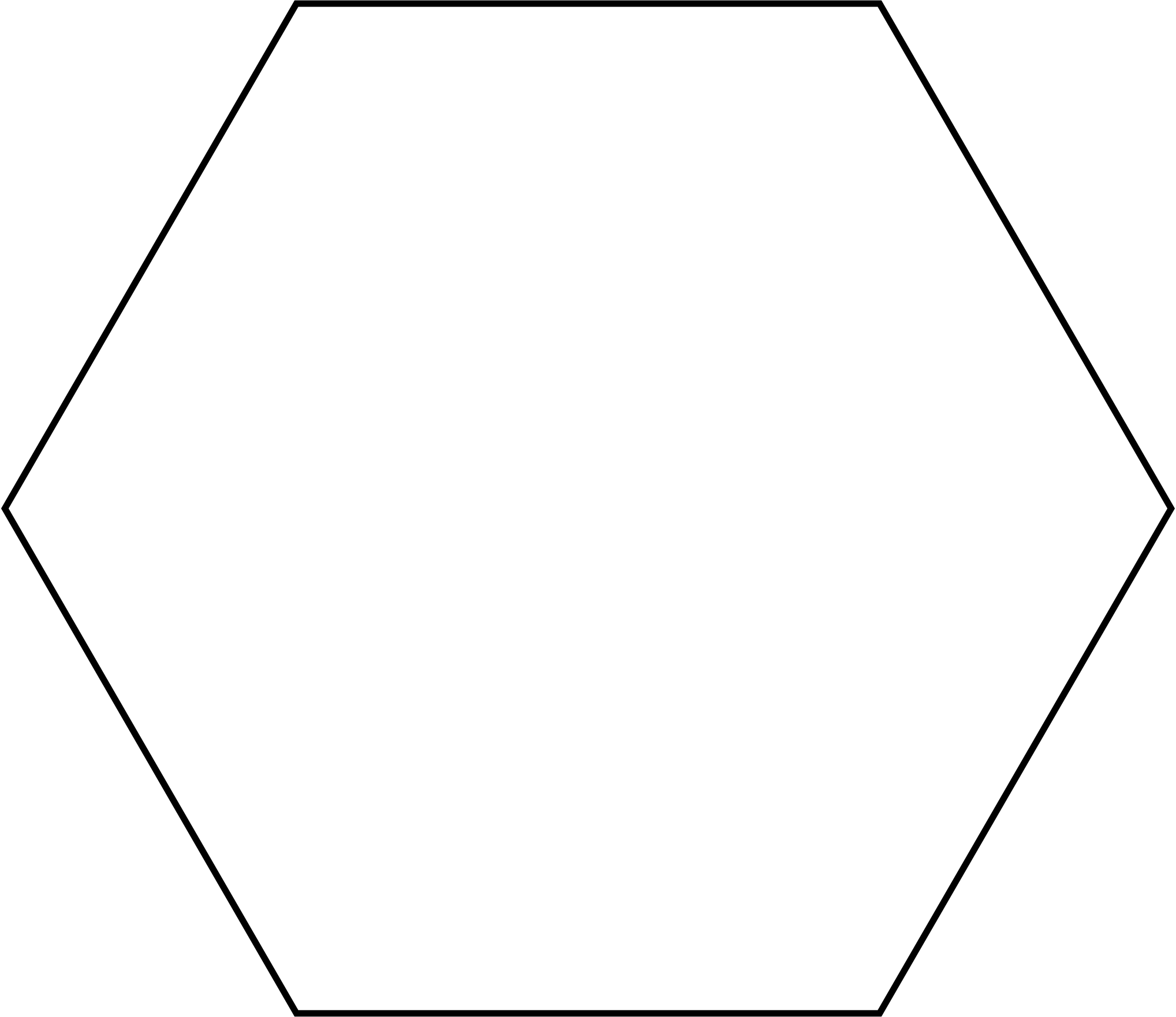 White hexagon png. File svg wikimedia commons