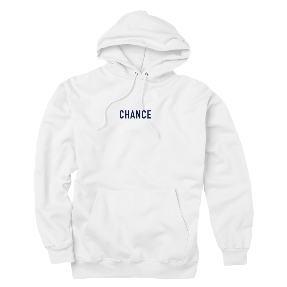 Hoodie transparent chance 3. White the rapper