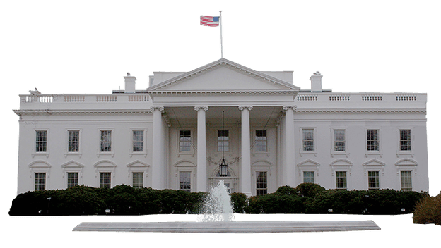 White mansion png. House washington transparent stickpng