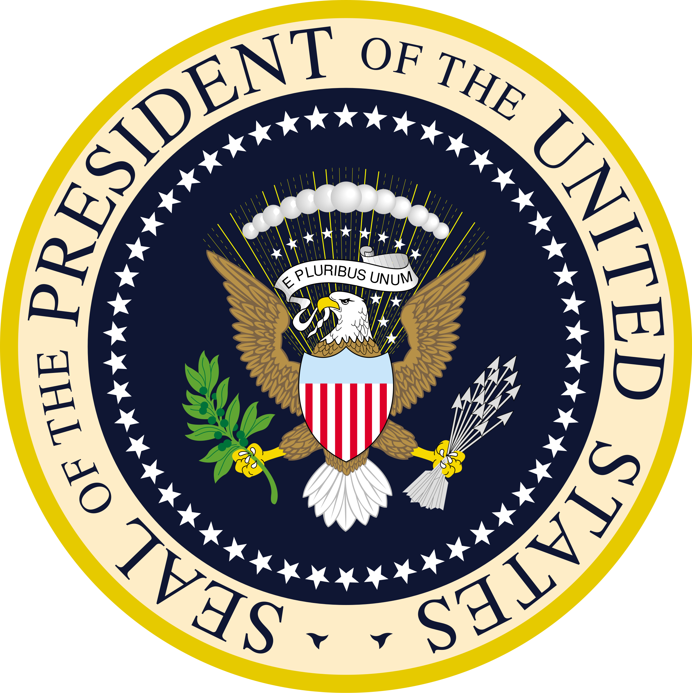 White house seal png. File of the president