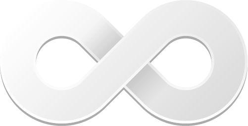 White infinity symbol png. By the penciler on