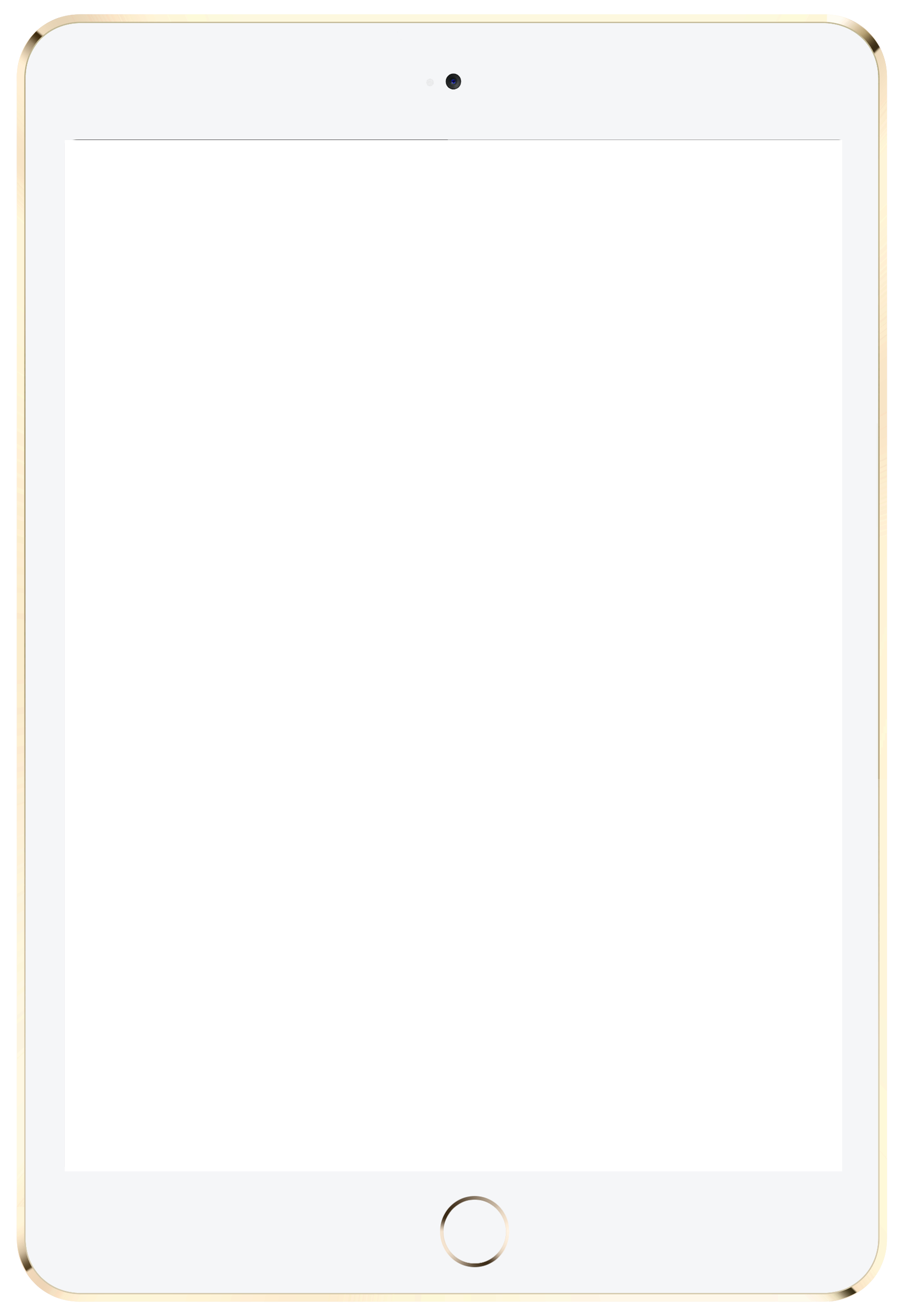 White ipad air png. Tablet image purepng free