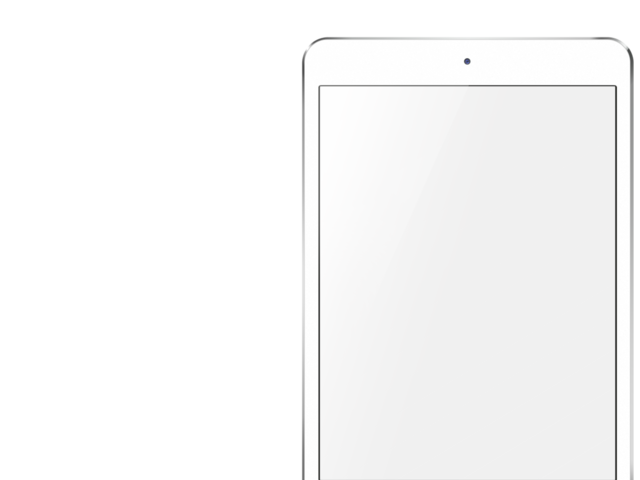 White ipad png. Placeit mini mockup template