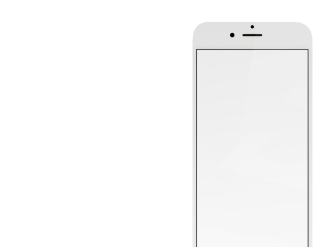 White iphone png. Placeit gold mockup with