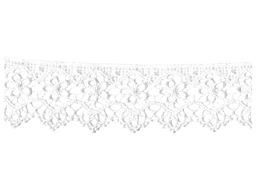 White lace border png