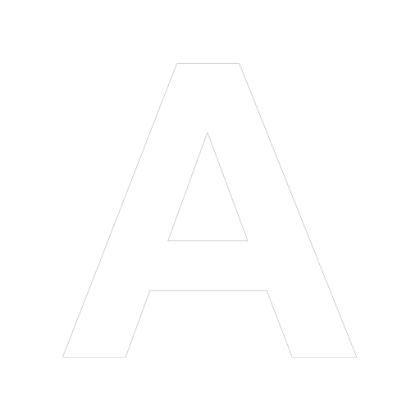 white letter a png